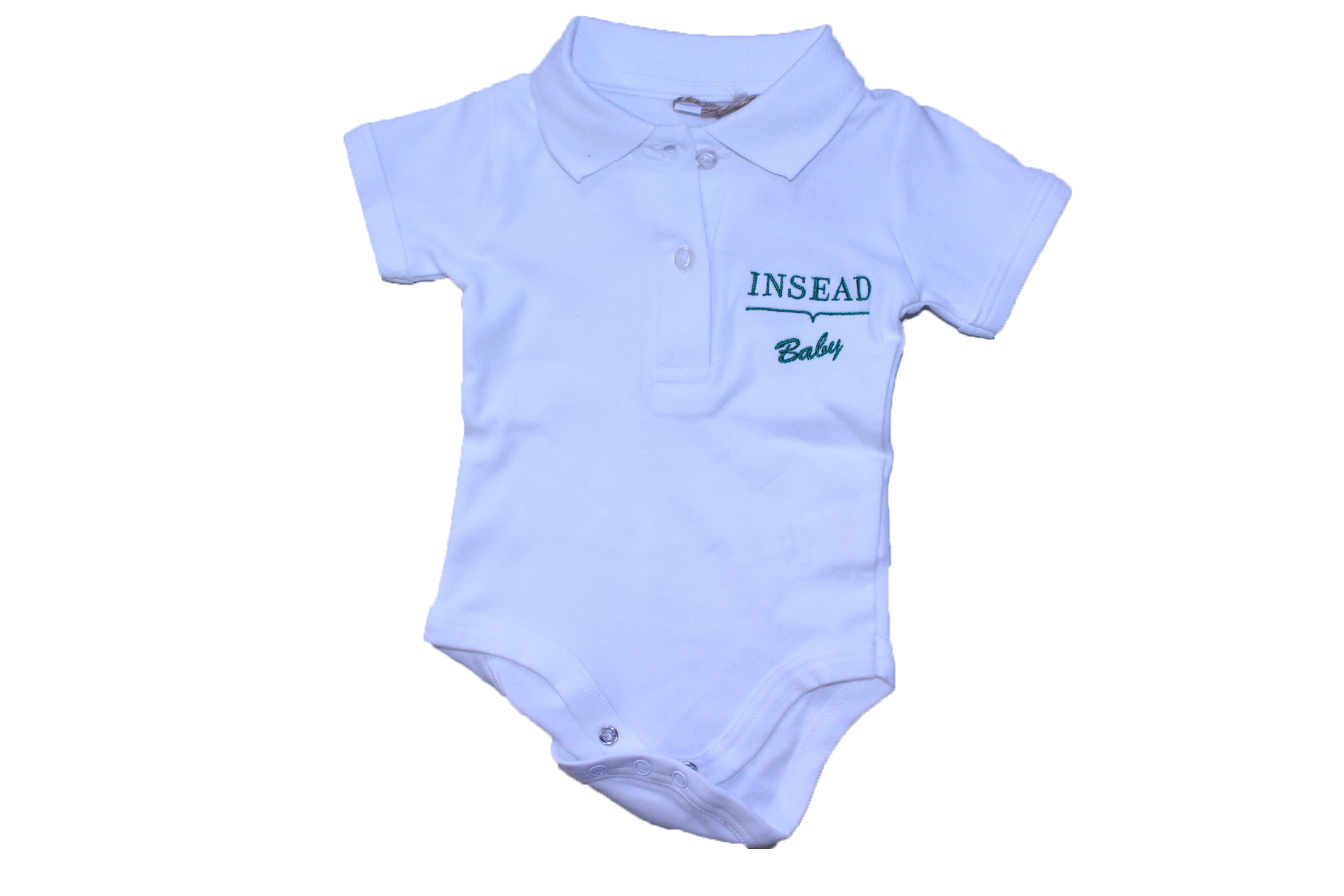 Foot Note INSEAD BODY POLO WHITE Baby s clothes Kids Boutique