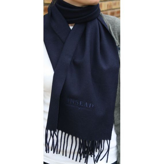 INSEAD LAMBSWOOL SCARF