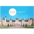 Fontainebleau's castle postcard